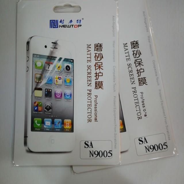 Samsung note 3 screen protectors (2 pieces)