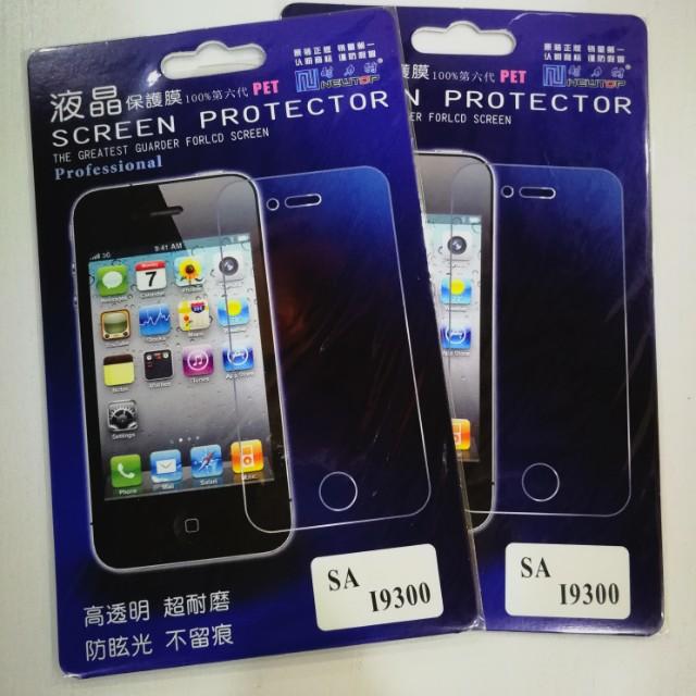 Samsung S3 screen protectors (2 pieces)