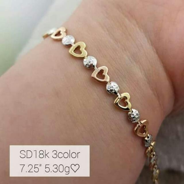 Saudi 2-tone 18kt Gold