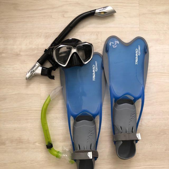 Snorkeling Set - Free one snorkel pipe