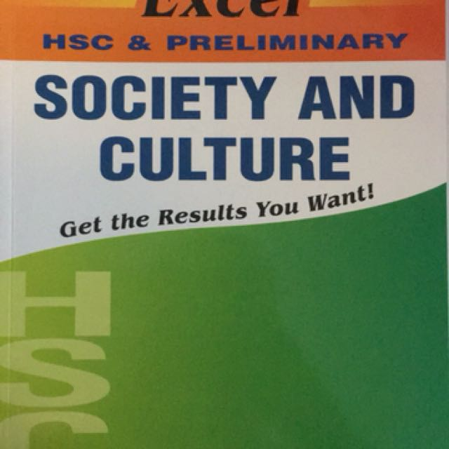 SOCIETY & CULTURE HSC
