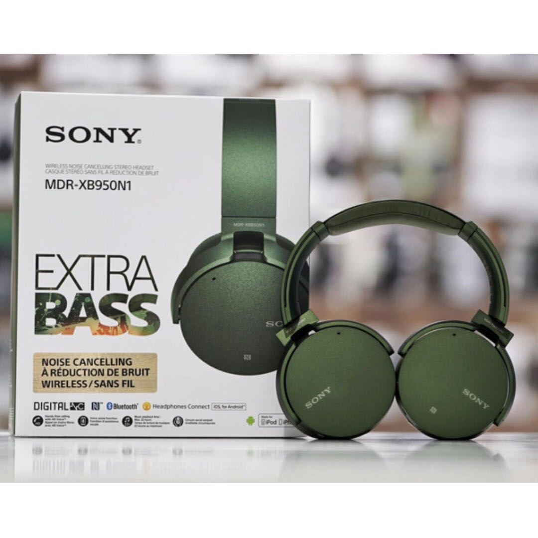 b73f0b0e47a SONY XB950N1 EXTRA BASS™ Wireless Noise Cancelling Headphones, Electronics,  Audio on Carousell