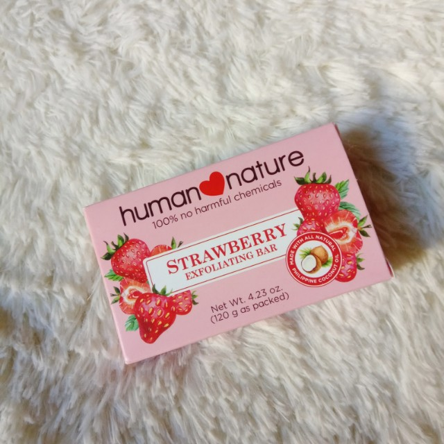 Strawberry Exfoliating Bar