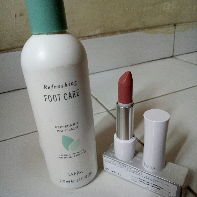 Take All Foot Balm & Lips Almost Nude