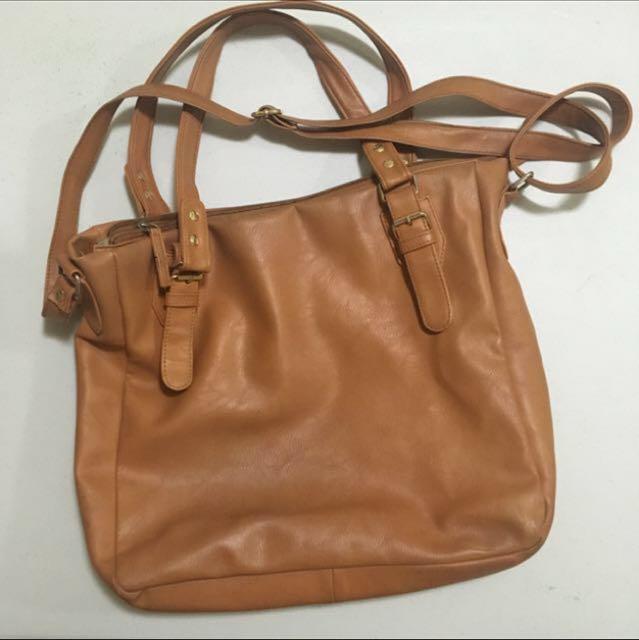 Tan Bag/Sling