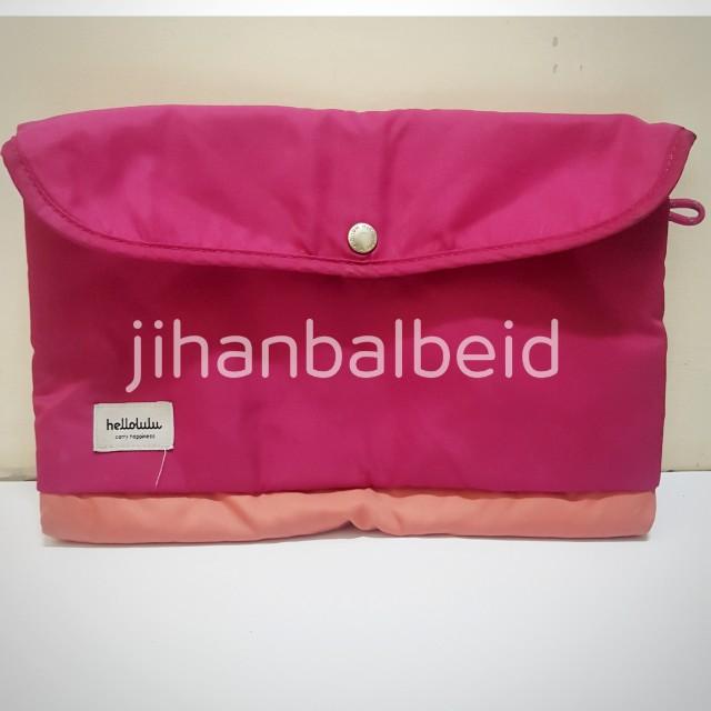 "Tas Laptop Pink Hellolulu Tees 11"" (ORI & MURAH)"