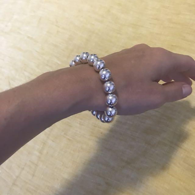 T&Co silver bracelet