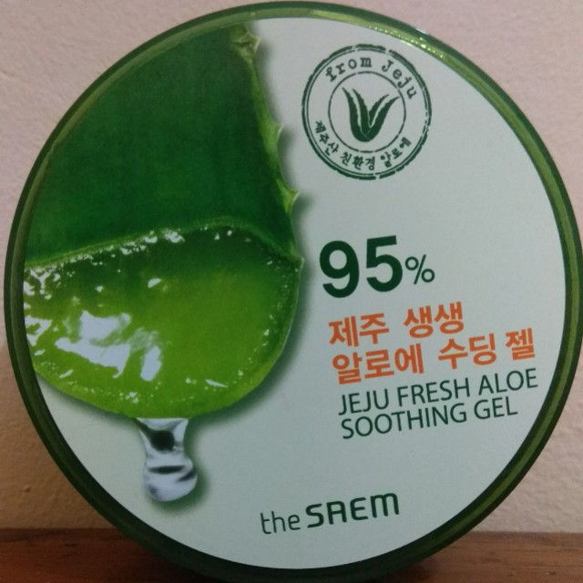 The Saem Fresh Aloe Jeju Shooting Gel 95%