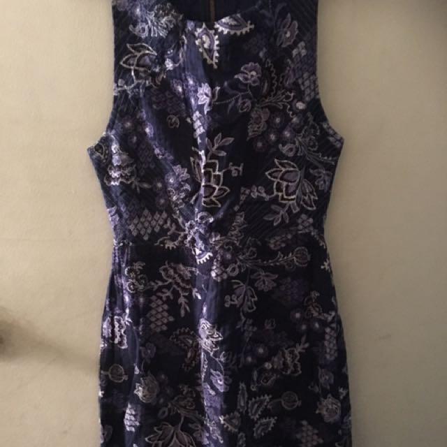 Tigerlily delft dress