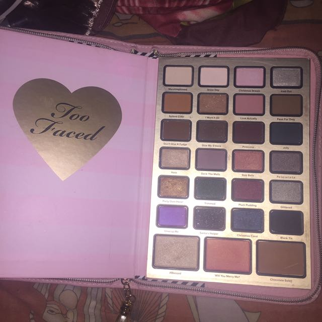Too faced christmas edition