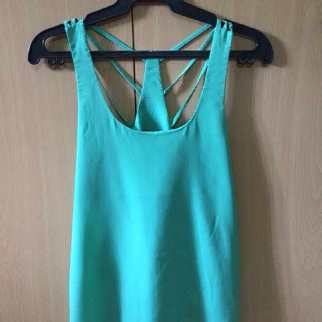 Topshop sleeveless summer outfit