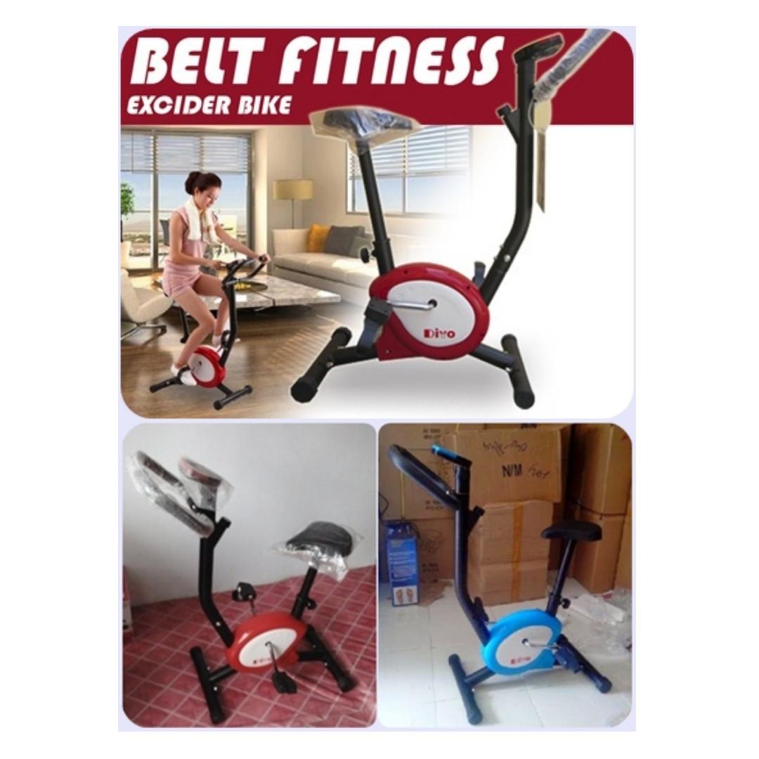 Total Fitness Sepeda Statis Belt Hitam Biru Pengiriman Khusus Medan Orbitrack Multifungsi Orb2000s Photo