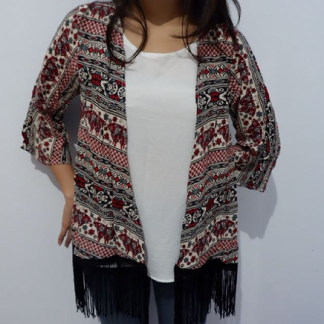 Tribal Outwear with Inner