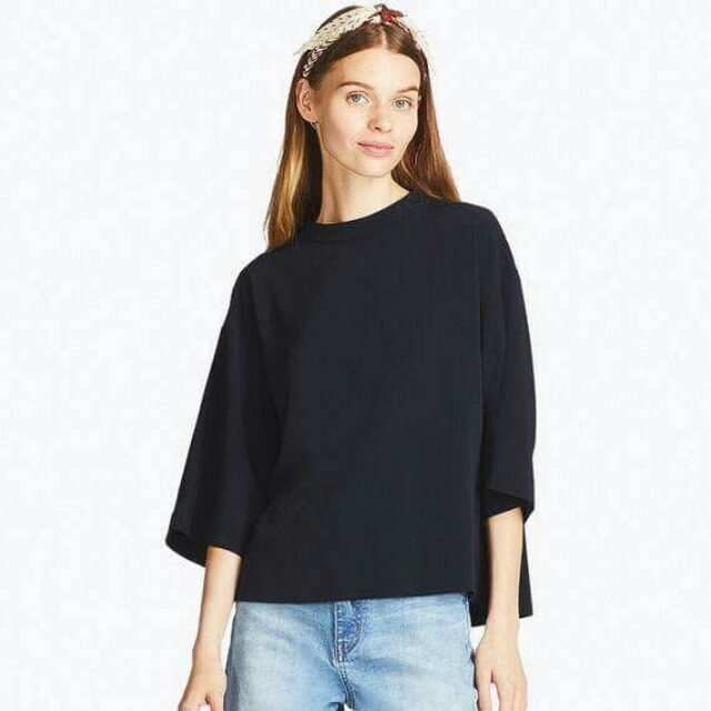 Uniqlo GU Mock Neck Top