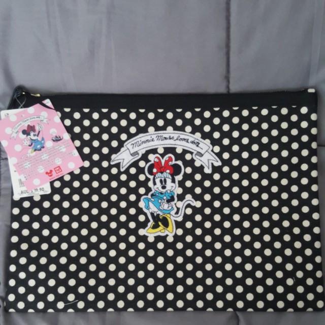 Uniqlo Minnie Collection Clutch Bag