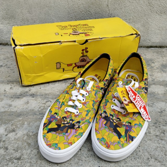 dea0c8ea80 Vans x Beatles Yellow Submarine