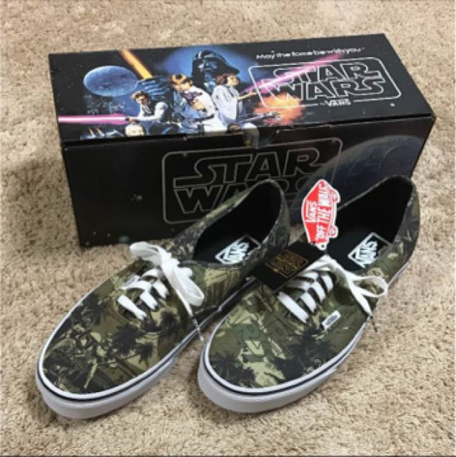 fc7f05f3d8a62e Vans x star wars collabo camo design size us 10