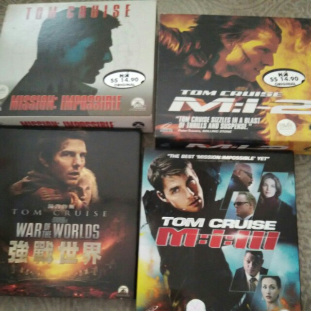 Vcd Offer Tom Cruise N Hits Movies Music Media Cds Dvds