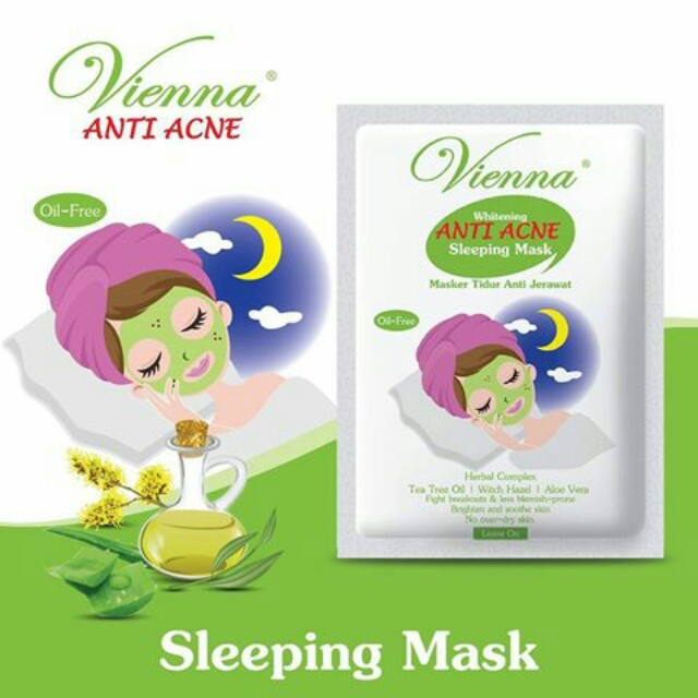 Vienna - Whitening Anti Acne Slepping Mask