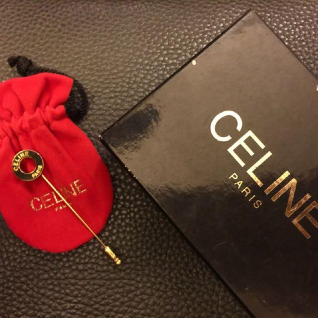 Vintage Celine brooch Pin
