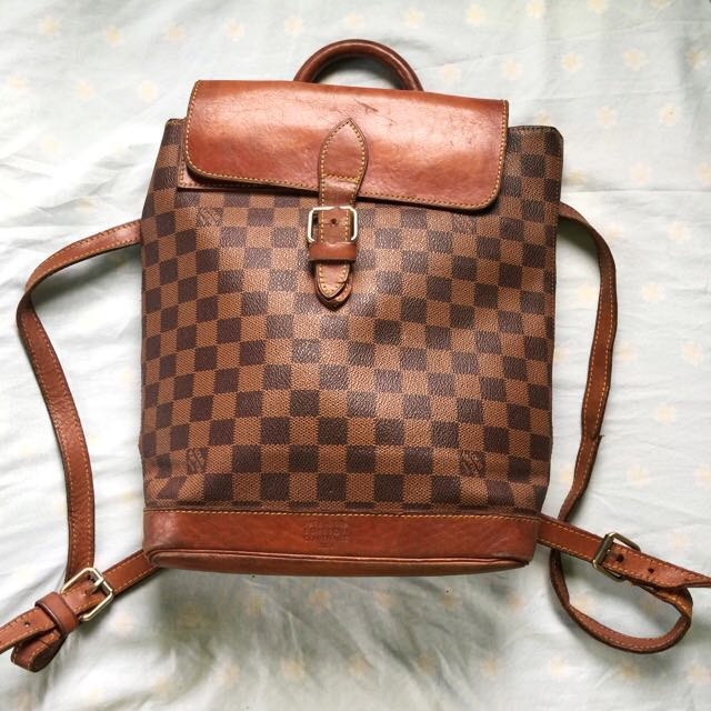vintage LV Louis Vuitton centenaire edition backpack
