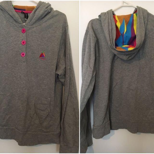 VonZipper hoodie size small