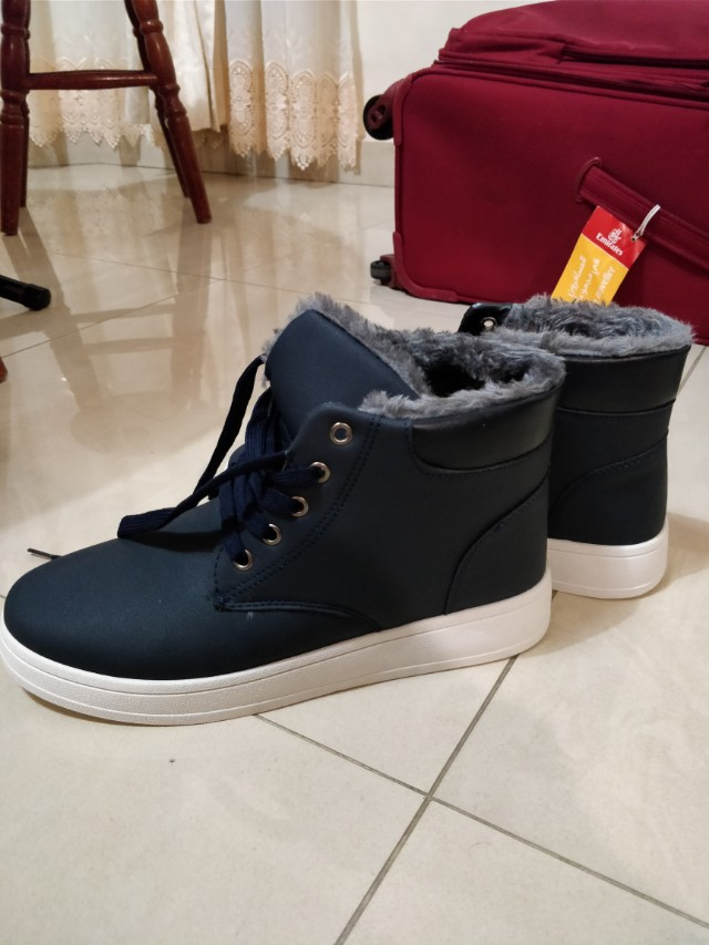 Winter Shoes Dark Blue Unisex