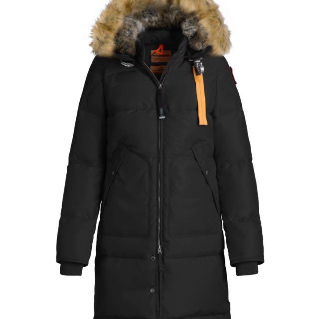 Women's long parajumper jacket