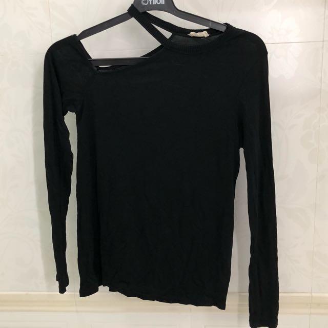 Zara black kaos