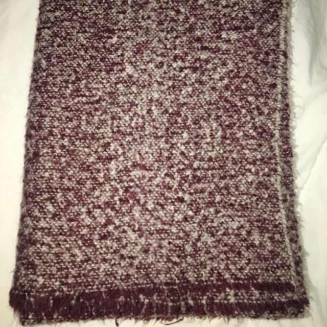 Zara Blanket Scarf Size M