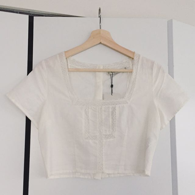 ZARA Cropped Blouse BNWT