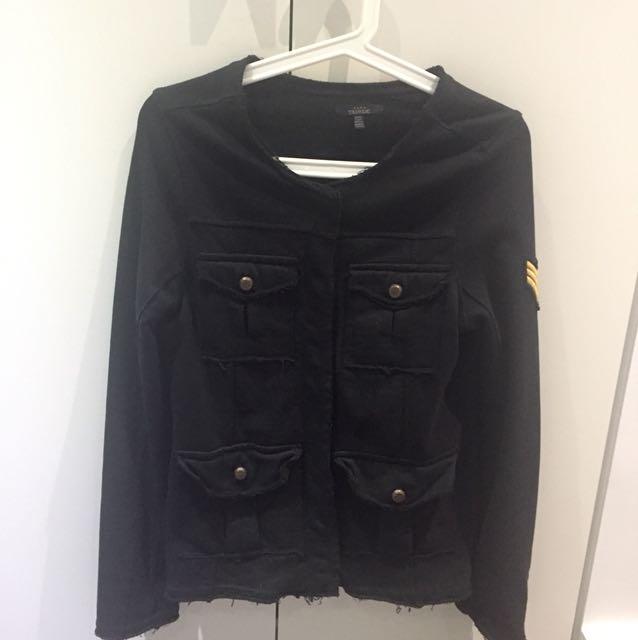 Zara Military Inspired Cardigan