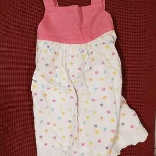 BabyPoney 18-24m Pink sleeveless dress