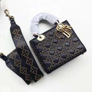 Christian Dior Dior Lady Studded Mini Bag