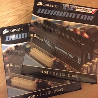 Corsair Dominator 2GB x 4 DDR3