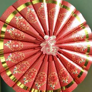 CNY blessings 福 wall hanging decoration