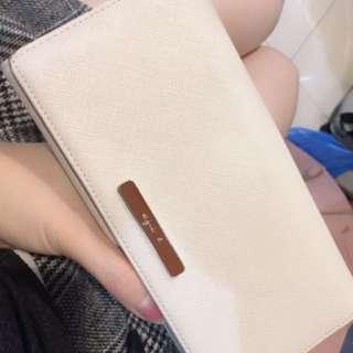 Agnes b 小b 長夾 (9成新) 原價7000便宜售