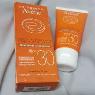 Avene tinted cream spf30