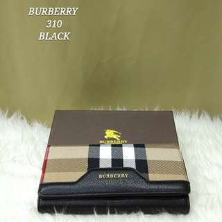 Burberry Wallet Black Color