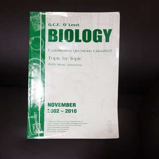 *FREE* O Level Biology Past Year Questions #blessing