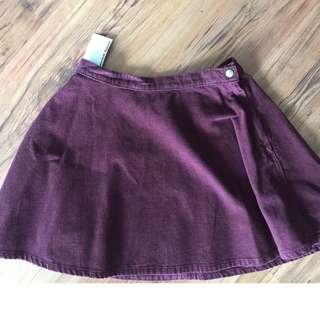 American Apparel Corduroy Circle Skirt Size Medium - tag still on/never worn