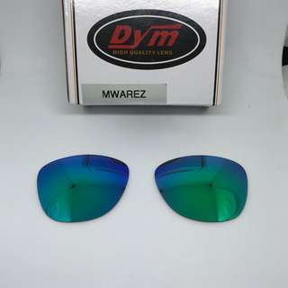 FROGSKINS Emerald Green POLARIZED Dym REPLACEMENT LENSE for Oakley Frogskins Sunglasses