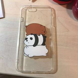 We Bare Bears iphone 6s+ 手機殼