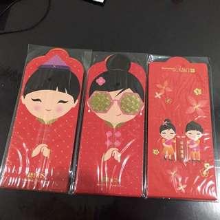 2018 dbs treasures red packet hong Bao Ang pow