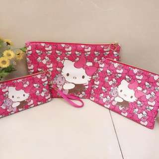 Hello Kitty 3in1 Pouch