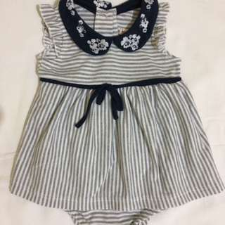 One-piece dress for baby girl ❤️