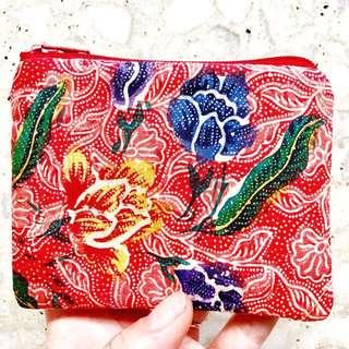 (Reserved) Batik Purse Handmade in Singapore