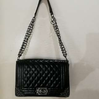 Chanel Boy Inspired Convertible Sling