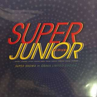 Super Junior 大阪場 Mr. Simple 限量版