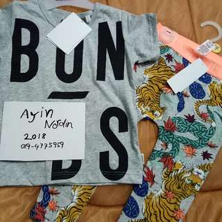 Bonds Tee N Legging Set